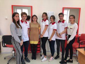 Сегодня волонтёры Добровольческого Центра «Волонтёр» Апшеронского района