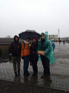 #акция@volonter_tmb  8 ноября перед открытием Мемориала Памяти в