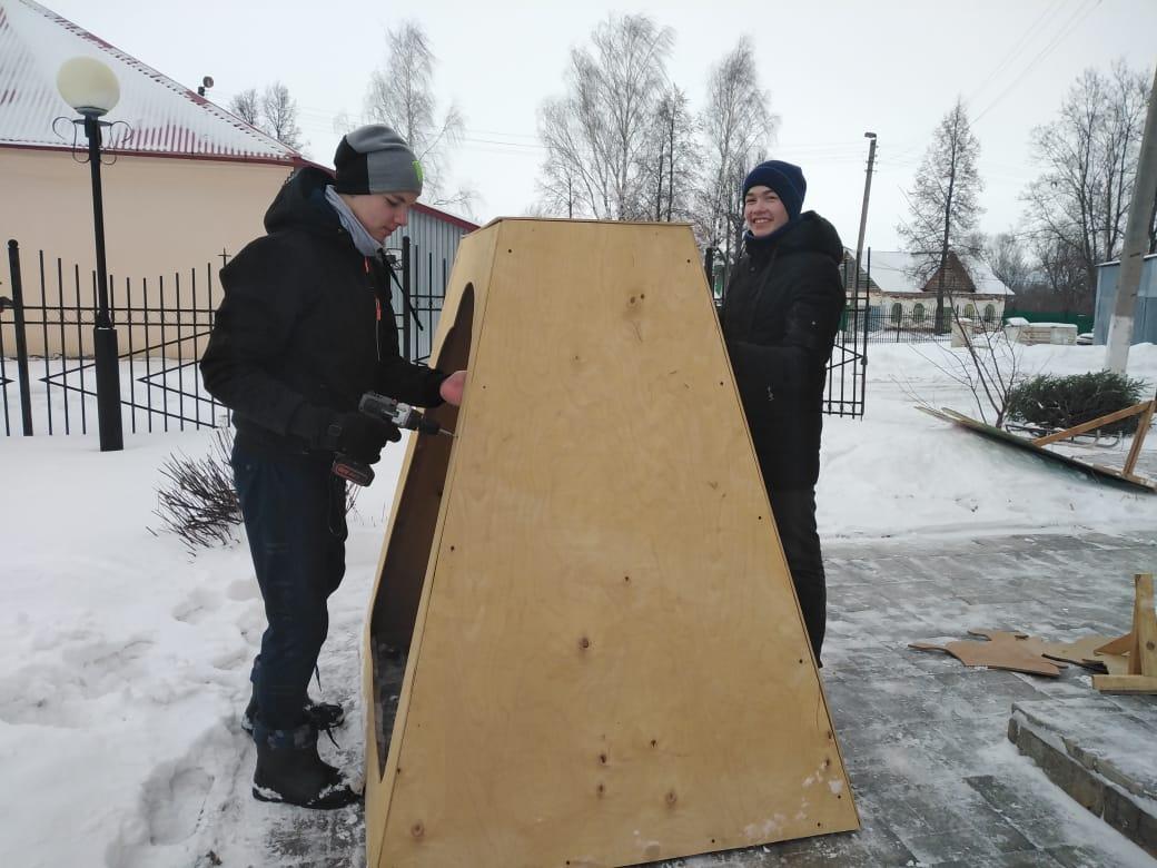 Акция «Рождественский вертеп». Нынешние дни — подготовка