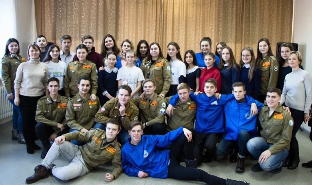 ▪︎5 февраля в ДЦ «Волонтер» состоялся круглый
