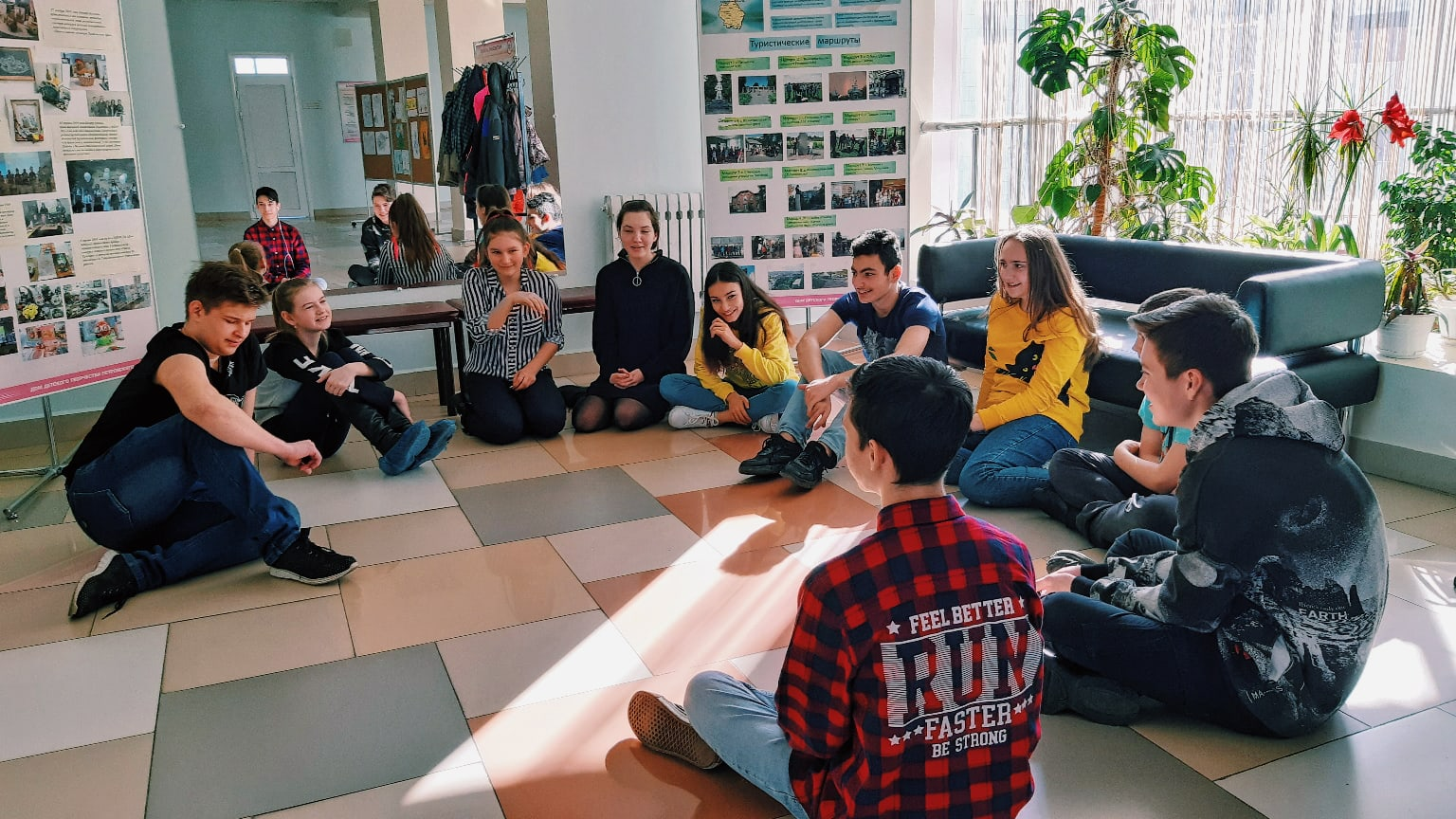 Сегодня, 17 марта волонтеры добровольческого центра провели
