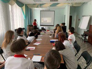 Сегодня состоялся координационный совет ДЦ «Волонтёр» г.