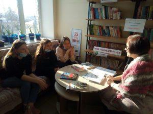 #Новости@mddvolonter_kizner  Продолжаем сотрудничество с [https://vk.com/librarykizner центральной районной библиотекой]. Сегодня,