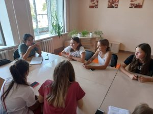 #Новости@mddvolonter_kizner  💬22 августа прошла новая встреча наших волонтёров.