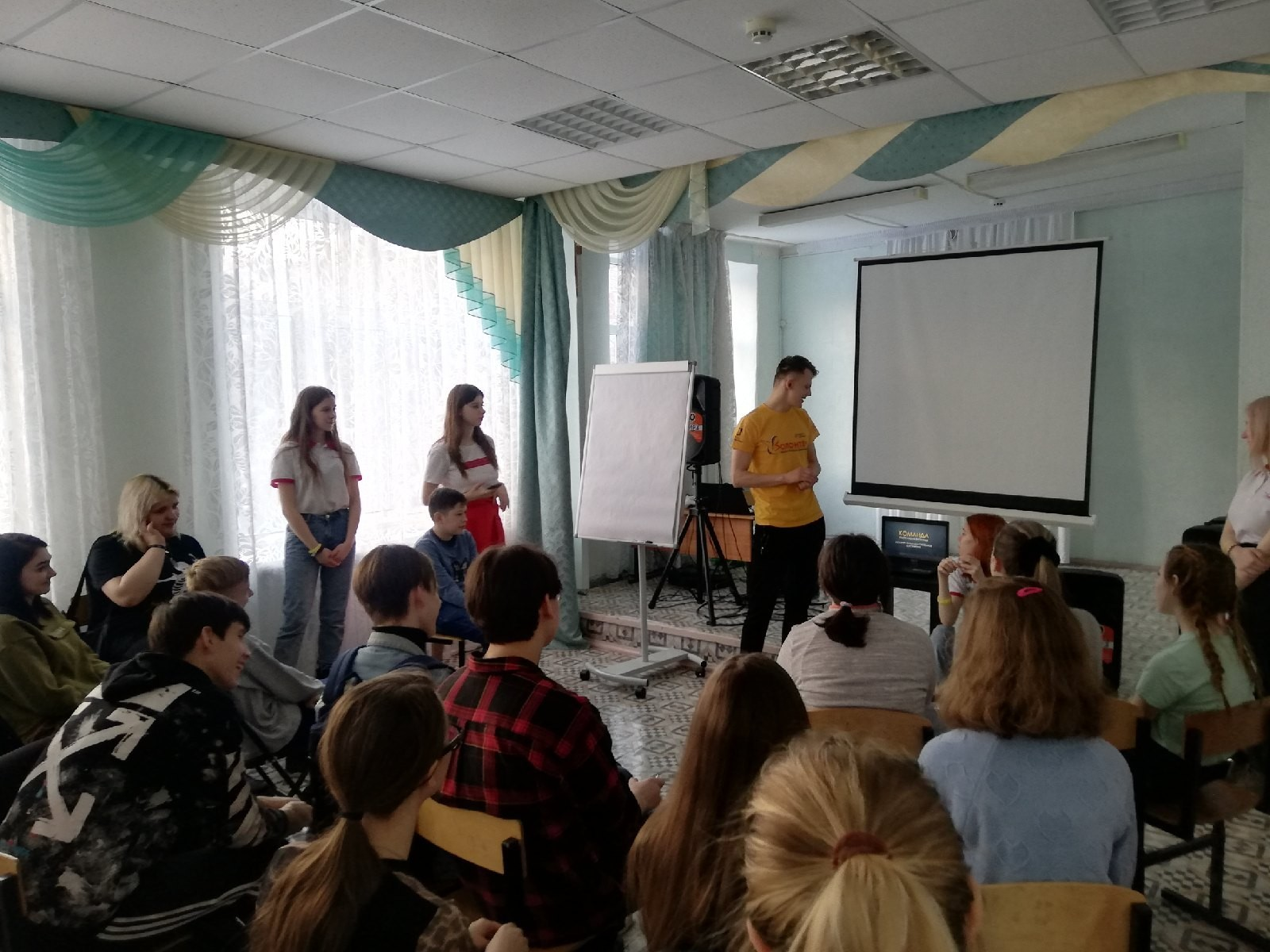 8 февраля прошли 2 семинара «7 навыков