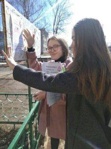 ➖➖➖➖➖➖➖➖➖ #акция 27 марта волонтеры провели акцию «Стоп коронавирус»-развешивали