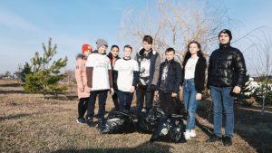 Акция  «ЭкоБум»  10 марта волонтеры ДЦ «Волонтер»