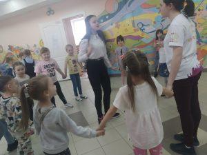 #Акция@volonter_kizner  Акция «Вместе веселее!»  21 марта наши волонтёры познакомились