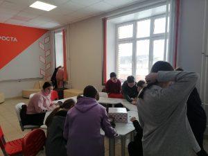 #Акция@mddvolonter_alnashi  12 февраля наши волонтёры провели акцию